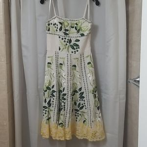 Sue Wong Exquisitely Embroidered  Dress